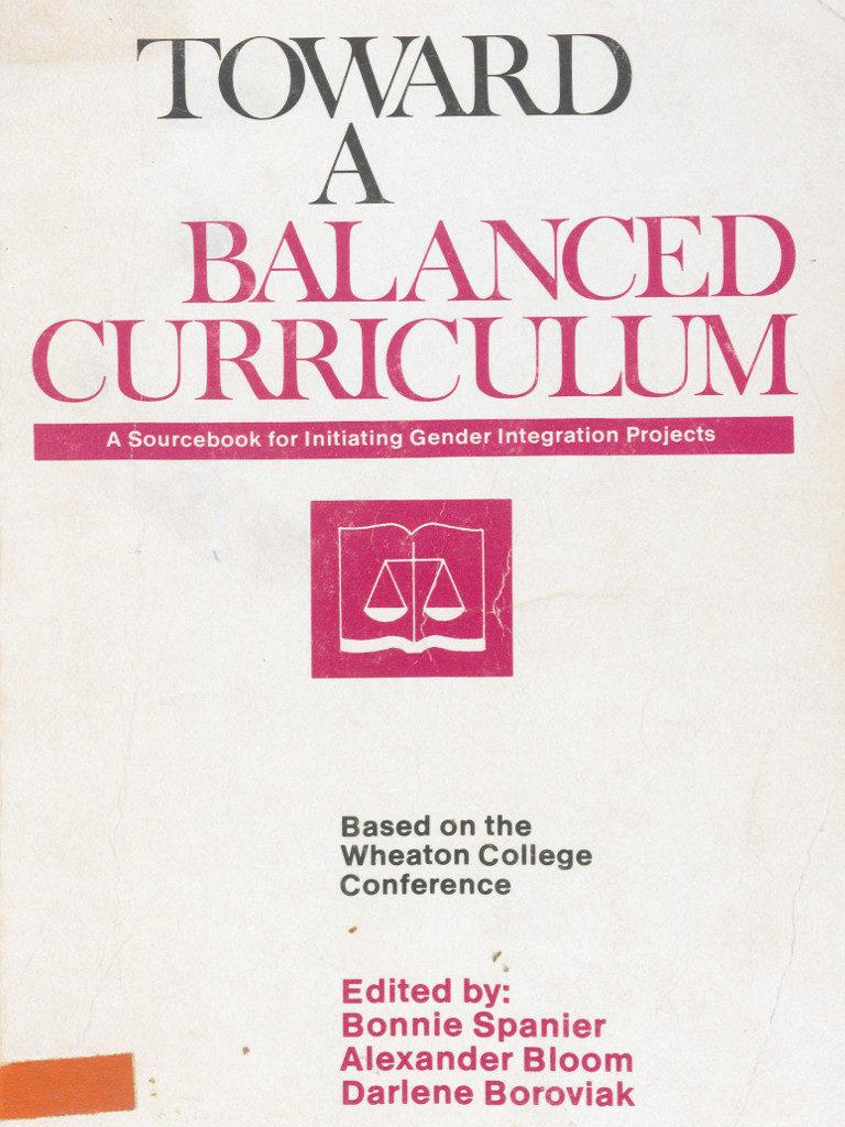 Toward a Balanced Curriculum