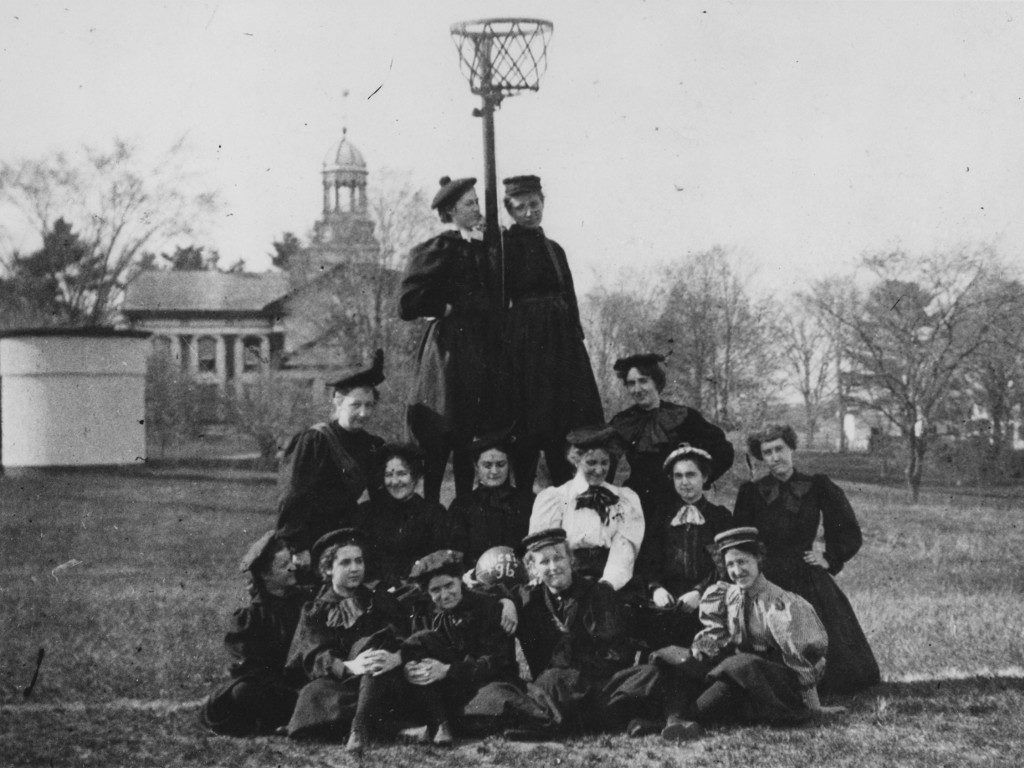 Basketball Players in 1896 or 1897