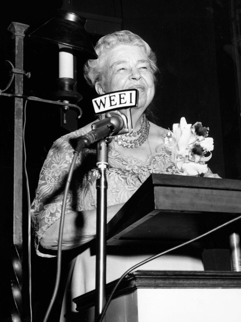 Eleanor Roosevelt Speaks at Wheaton