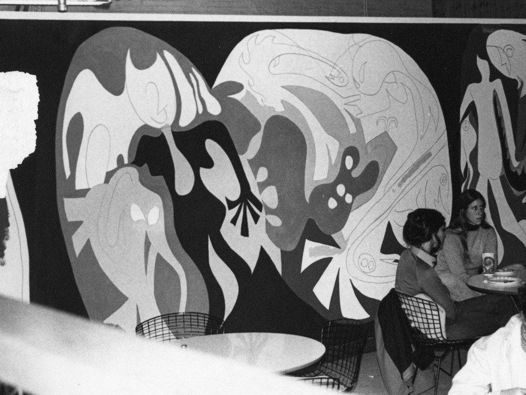 Mural in The Loft