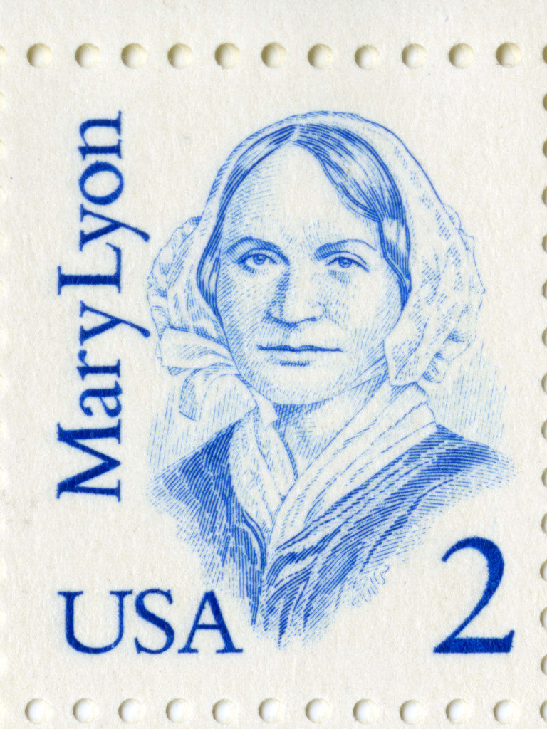 Mary Lyon Postage Stamp