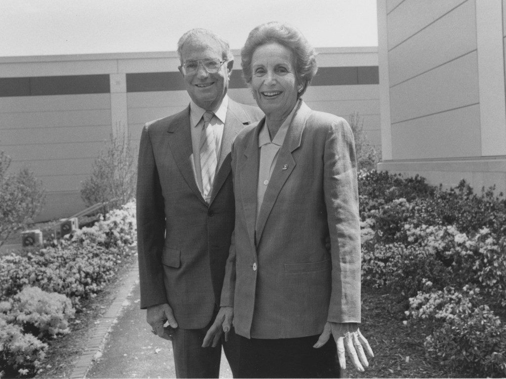 Evelyn and Walter Haas