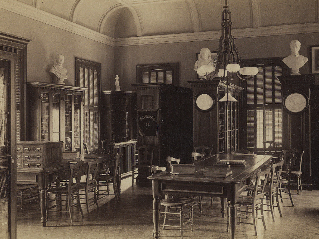 The Woolley Room as the Seminary's library