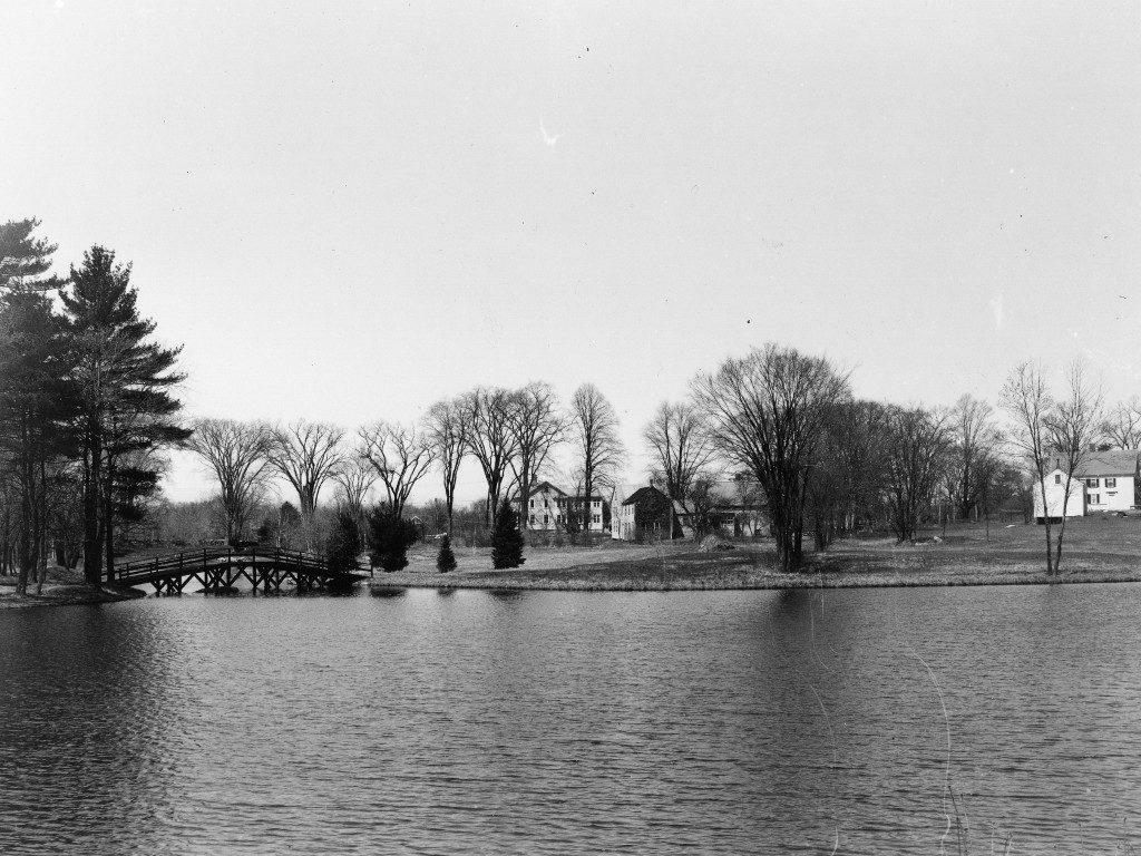 Peacock Pond circa 1954