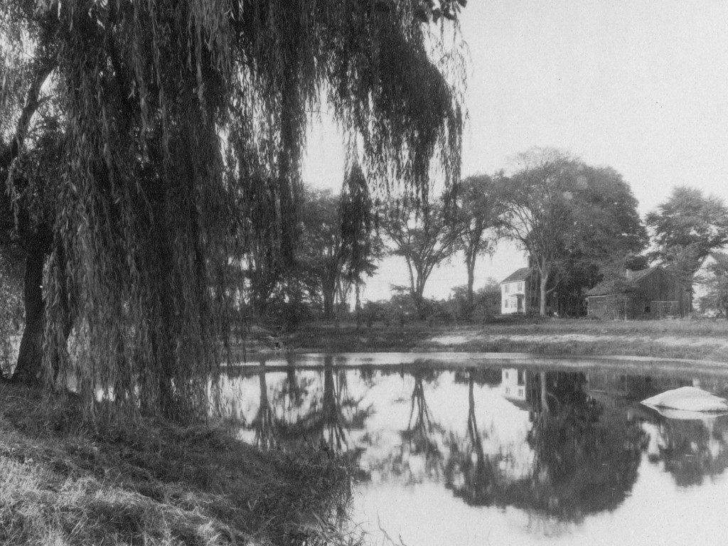 Peacock Pond circa 1929
